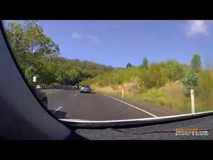 Incident on Toowoomba Range