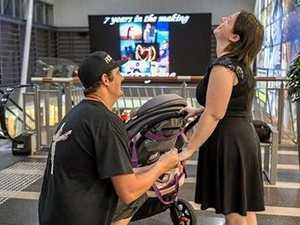 Will you marry me? Man proposes in Mackay shopping centre