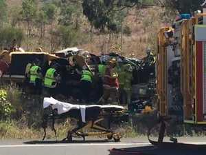 Truck driver trapped near Gladstone