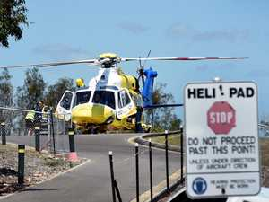 Relocating the Hervey Bay Hospital helipad is part of the hospital's early works in the major upgrade to the emergency department.