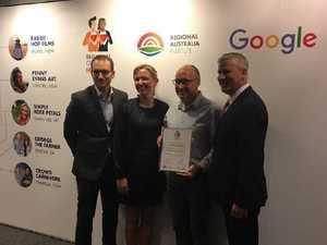 "AgTech start-up hailed ""regional hero"" by Google"
