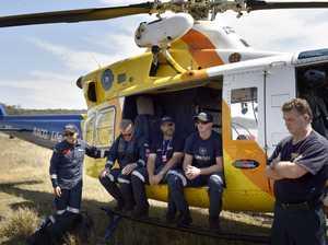 Emergency training exercise