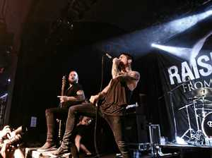 Raised Fist perform in Brisbane