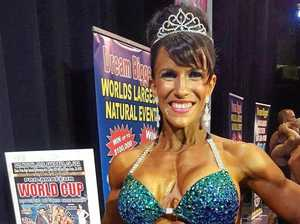 OVERSEAS SUCCESS: Toowoomba body builder Heather McGivern was victorious in her first international tour.