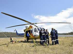 Mock rescue takes place at Cooby Creek
