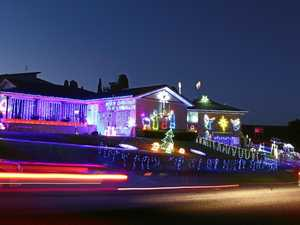 Lighting up Martin Crescent, Junction Hill for Christmas 2015. We want you to let us know where the best lights displays are this year.