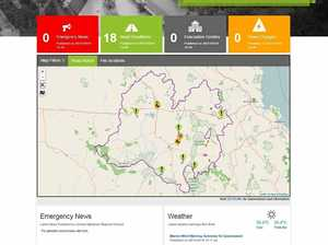 The CHRC new Emergency Management  Dashboard.