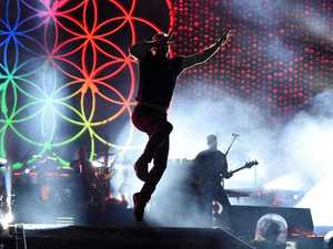 Coldplay bathes Brisbane fans in sea of colour