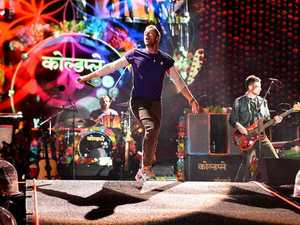 Coldplay perform in Brisbane