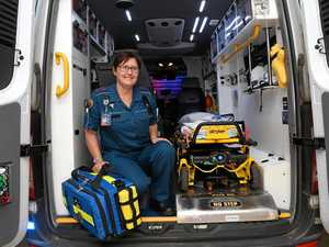 New Gatton paramedic en route to save lives