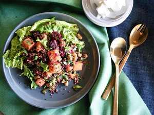 YUM: A fresh, exciting summer salad.