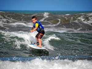 "Tully ""Turbo"" Adams is already making waves in the surfing world at four years old."