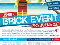 The Lismore Brick Event is set to showcase the LEGO® creations of many talented brick builders who will be exhibiting creations built entirely from LEGO®.