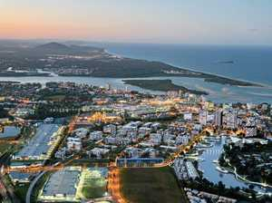 LOOKING AHEAD: The central business district at Maroochydore is planned to be the heart of the Sunshine Coast.