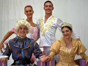 BALLET: The Sleeping Beauty cast Aurora - Darci O'Rourke, Prince Desiree - Ayden Hayes, King - Stephen Fowler, Queen - Jamie Burrows performing at the Jetty Theatre in two shows tomorrow.