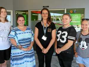 JOB SEARCH: Ren Simpson, Keiah Smith, Claire Cottone, Shakia Tauwhare and Claudia Cason.
