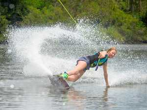World's best wakeboarders descend on Clarence 'playground'