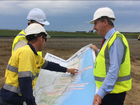 Transport Minister Darren Chester visits Northern Rivers
