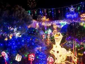 Christmas light displays in Toowoomba dazzle all