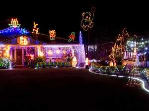 Christmas light displays dazzle