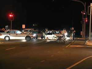 Three people taken to hospital after crash at Takalvan St
