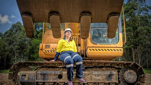 """""""I HAD managed to master the excavator and got the confidence to approach businesses myself, which is something I never would have done in the past."""""""