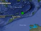 A 6.7 magnitude earthquake was felt in Darwin this morning