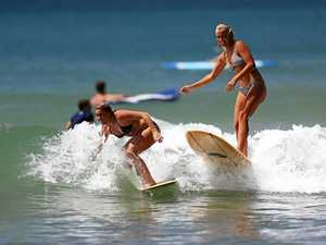 Pro surfers drop in to thrill Main Beach