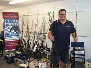 What a catch: Police find $50K of stolen fishing rods