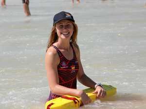 Ex-Rainbow lifeguard's skills save car crash victim