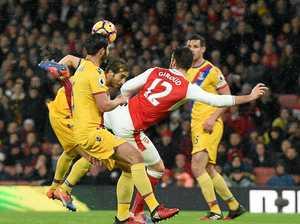 Giroud says amazing goal had 'maximum luck'