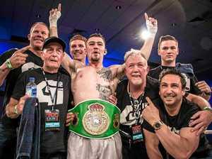 Mackay champ 'didn't take that belt off for three days'