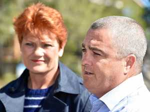 Huxham laughs off claim LNP backed One Nation