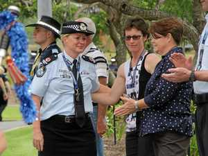 Emotional farewell but no regrets as cop takes new job