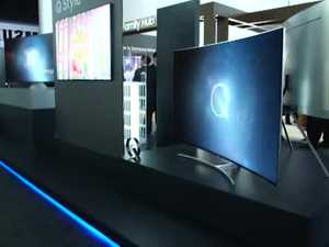 Samsung unveils its new QLED televisions