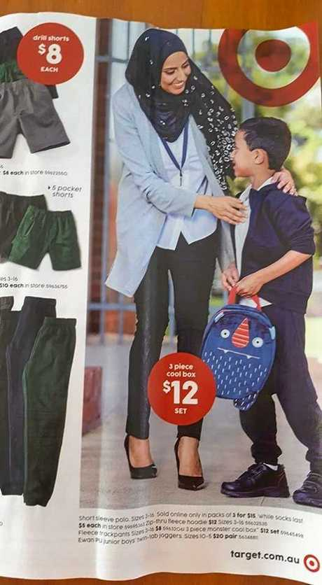 An image from a Target catalogue that sparked outrage.