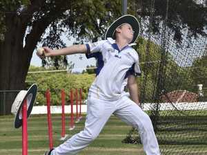 Aspiring cricket players