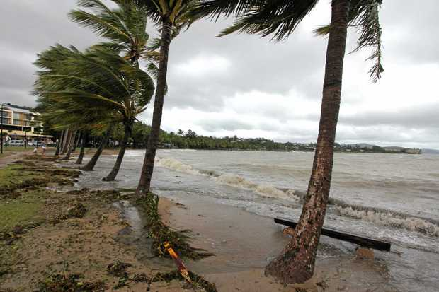 BE PREPARED: Airlie Beach felt the effects of  Tropical Cyclone Dylan in 2014.