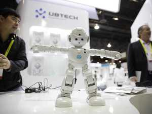 UBTECH's Lynx, a video-enabled humanoid robot with Amazon Alexa, is demonstrated at CES International  in Las Vegas. (AP Photo/Jae C. Hong)
