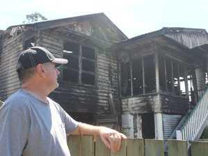 Granville man recalls moment flames engulfed next door home