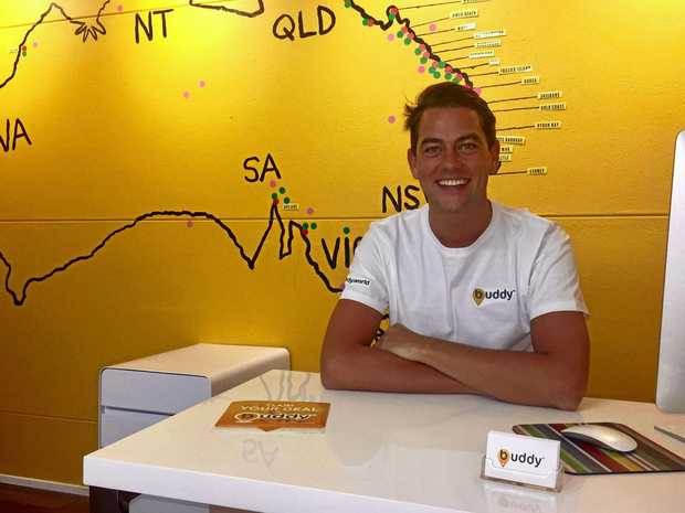 Buddy founder, Noosa resident Danny Simmonds.