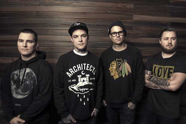The Amity Affliction will perform in Coffs Harbour this month.