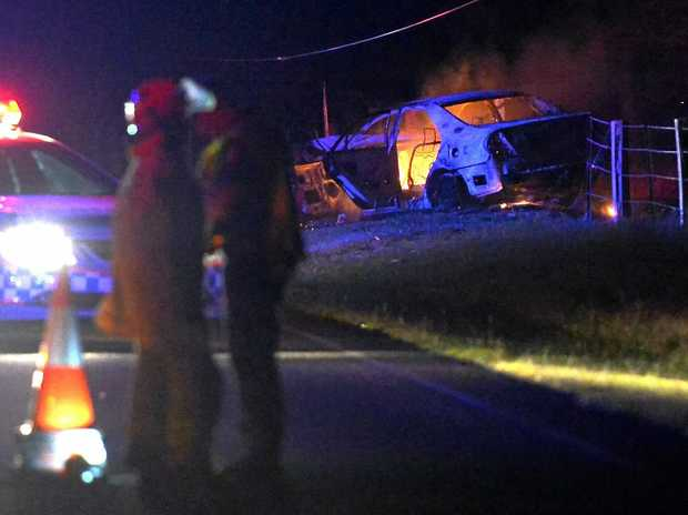 POTENTIALLY DEADLY: Elise May Pechler was three times over the limit when she crashed on Murdochs Rd.