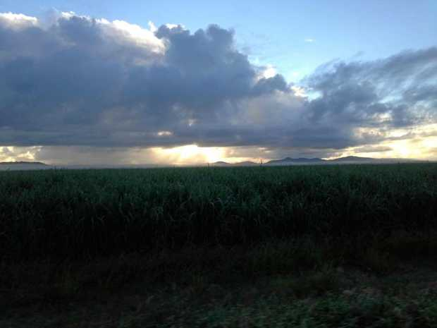 Bonnie Marie took this shot captioned: Morning showers. The Central Highlands can expect thunderstorms this weekend.
