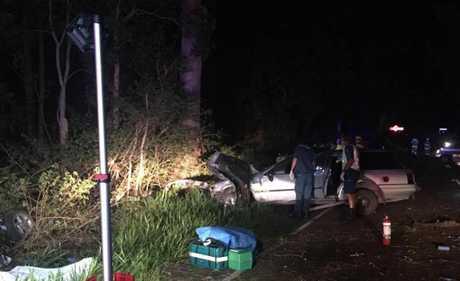 The forensic crash unit is investigating the fatal crash.