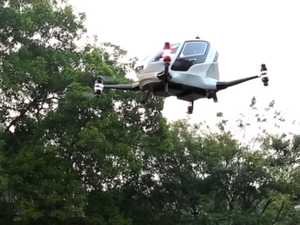 Life-size passenger drone to beat the traffic