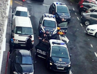Spanish emergency service rushed to the scene of the attack. Picture: TwitterSource:Supplied