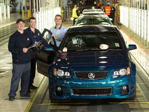 Holden Vehicle Operations mark the final VE Commodore to be built in 2013.