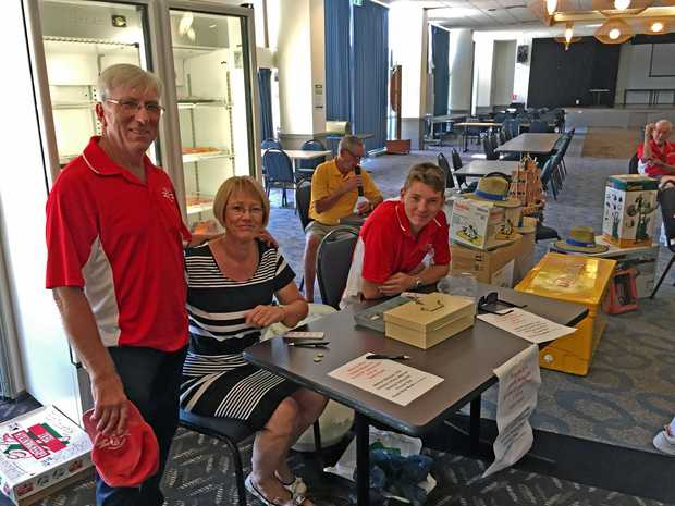 FUNDRAISING SUCCESS: Woolgoolga Surf Life Saving Club held their annual Black and White Bowls day.