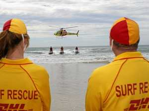 Lifesavers' plea: swim between the flags